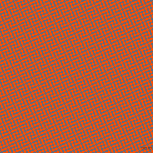 68/158 degree angle diagonal checkered chequered squares checker pattern checkers background, 8 pixel square size, , International Orange and Dolphin checkers chequered checkered squares seamless tileable