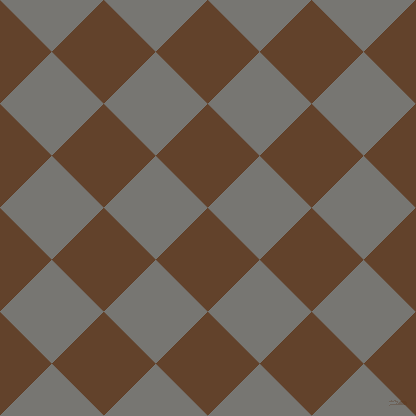 45/135 degree angle diagonal checkered chequered squares checker pattern checkers background, 147 pixel square size, , Irish Coffee and Dove Grey checkers chequered checkered squares seamless tileable