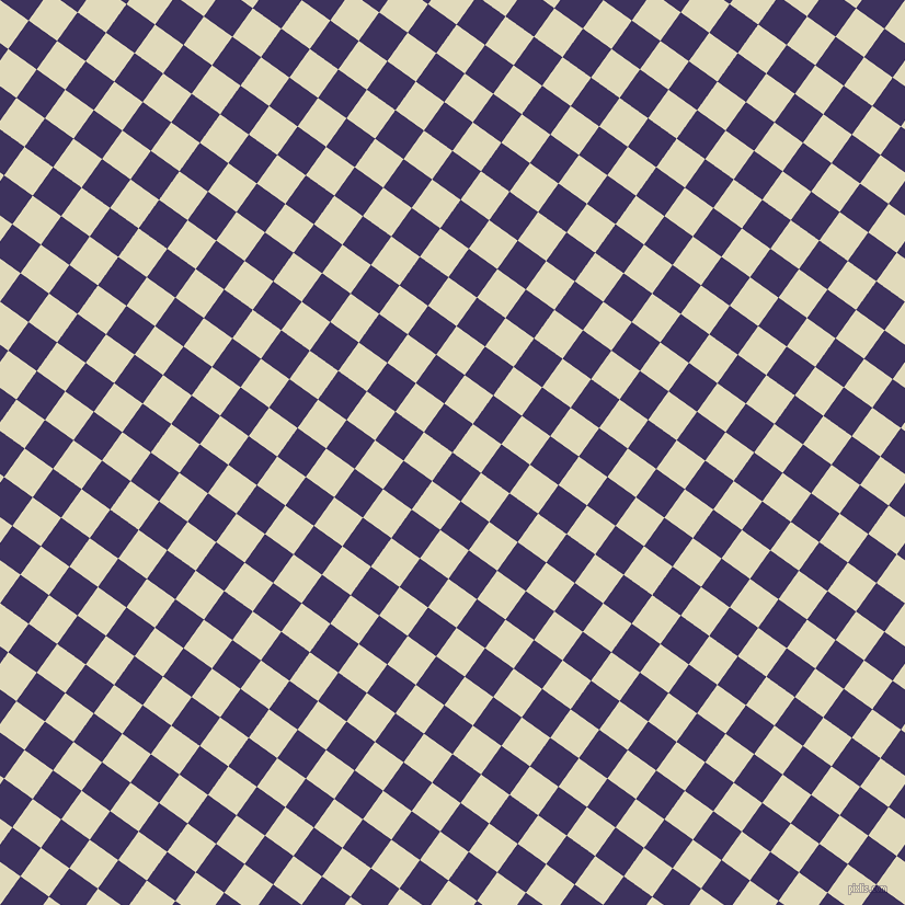 54/144 degree angle diagonal checkered chequered squares checker pattern checkers background, 32 pixel squares size, , Jacarta and Coconut Cream checkers chequered checkered squares seamless tileable