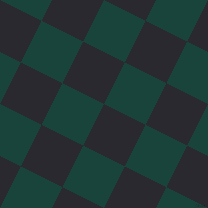 63/153 degree angle diagonal checkered chequered squares checker pattern checkers background, 163 pixel square size, , Jaguar and Deep Teal checkers chequered checkered squares seamless tileable