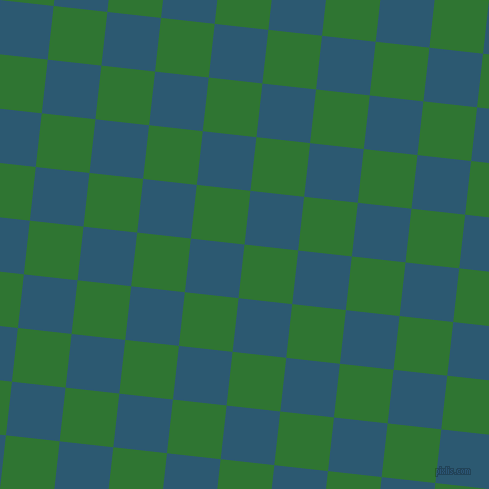 84/174 degree angle diagonal checkered chequered squares checker pattern checkers background, 54 pixel square size, , Japanese Laurel and Chathams Blue checkers chequered checkered squares seamless tileable