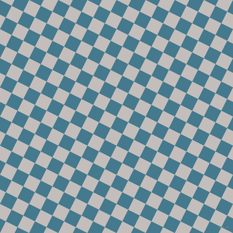 63/153 degree angle diagonal checkered chequered squares checker pattern checkers background, 45 pixel squares size, , Jelly Bean and Pale Slate checkers chequered checkered squares seamless tileable