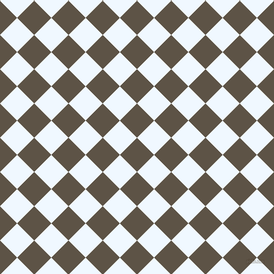 45/135 degree angle diagonal checkered chequered squares checker pattern checkers background, 48 pixel squares size, , Judge Grey and Alice Blue checkers chequered checkered squares seamless tileable