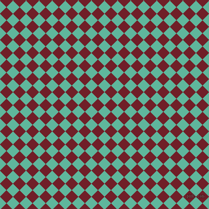 45/135 degree angle diagonal checkered chequered squares checker pattern checkers background, 18 pixel square size, , Keppel and Red Berry checkers chequered checkered squares seamless tileable