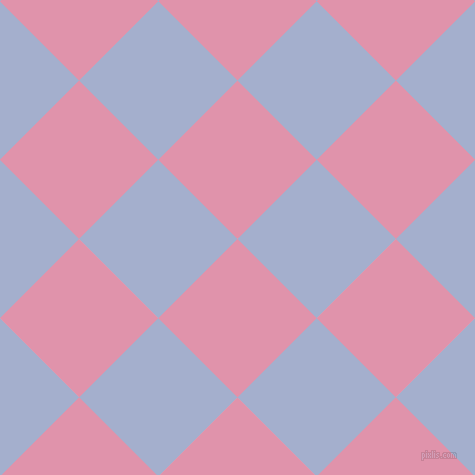 45/135 degree angle diagonal checkered chequered squares checker pattern checkers background, 112 pixel square size, Kobi and Echo Blue checkers chequered checkered squares seamless tileable