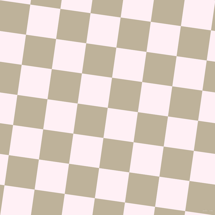 82/172 degree angle diagonal checkered chequered squares checker pattern checkers background, 105 pixel square size, Lavender Blush and Akaroa checkers chequered checkered squares seamless tileable