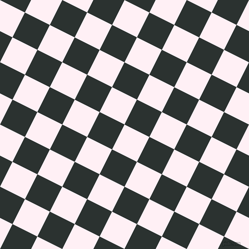 63/153 degree angle diagonal checkered chequered squares checker pattern checkers background, 56 pixel squares size, , Lavender Blush and Woodsmoke checkers chequered checkered squares seamless tileable