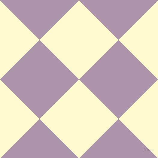 45/135 degree angle diagonal checkered chequered squares checker pattern checkers background, 186 pixel squares size, , Lemon Chiffon and London Hue checkers chequered checkered squares seamless tileable