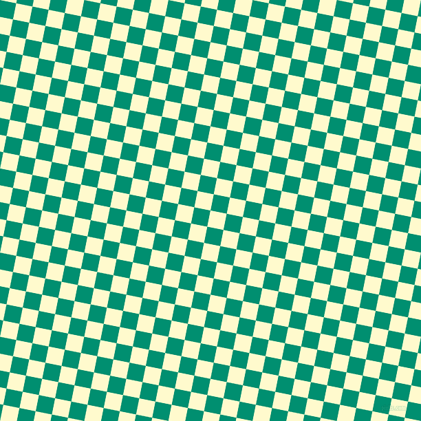 79/169 degree angle diagonal checkered chequered squares checker pattern checkers background, 24 pixel squares size, , Lemon Chiffon and Observatory checkers chequered checkered squares seamless tileable