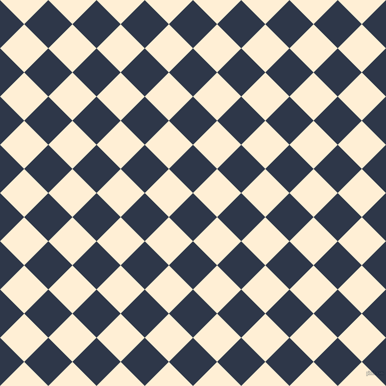 45/135 degree angle diagonal checkered chequered squares checker pattern checkers background, 69 pixel squares size, , Licorice and Papaya Whip checkers chequered checkered squares seamless tileable