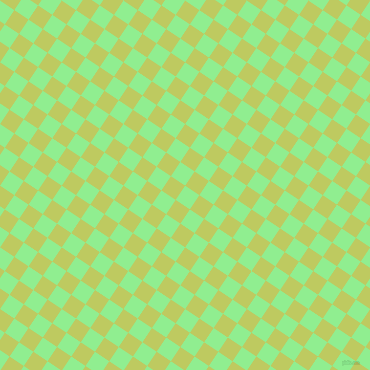 56/146 degree angle diagonal checkered chequered squares checker pattern checkers background, 35 pixel squares size, , Light Green and Wild Willow checkers chequered checkered squares seamless tileable