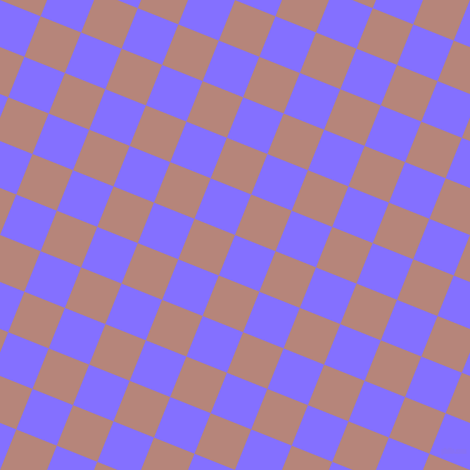 68/158 degree angle diagonal checkered chequered squares checker pattern checkers background, 62 pixel squares size, , Light Slate Blue and Brandy Rose checkers chequered checkered squares seamless tileable