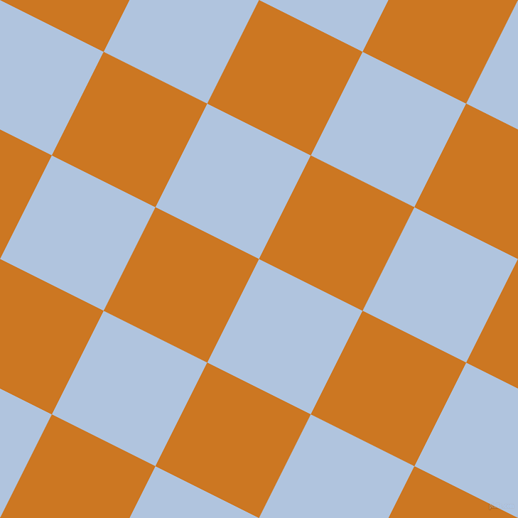 63/153 degree angle diagonal checkered chequered squares checker pattern checkers background, 163 pixel square size, , Light Steel Blue and Ochre checkers chequered checkered squares seamless tileable