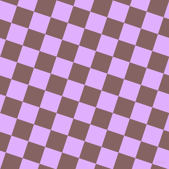 72/162 degree angle diagonal checkered chequered squares checker pattern checkers background, 62 pixel squares size, , Light Wood and Mauve checkers chequered checkered squares seamless tileable