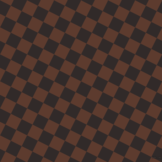 63/153 degree angle diagonal checkered chequered squares checker pattern checkers background, 46 pixel squares size, , Livid Brown and Cioccolato checkers chequered checkered squares seamless tileable