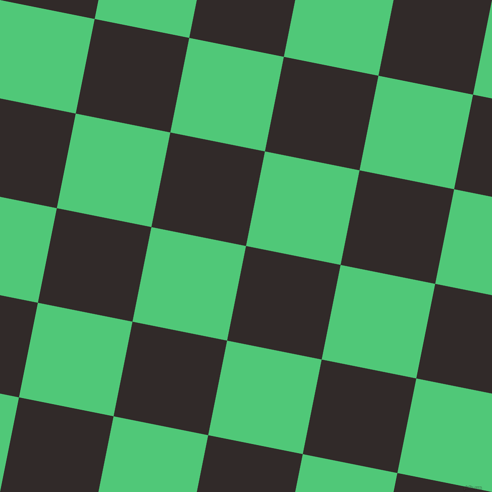 79/169 degree angle diagonal checkered chequered squares checker pattern checkers background, 191 pixel square size, , Livid Brown and Emerald checkers chequered checkered squares seamless tileable