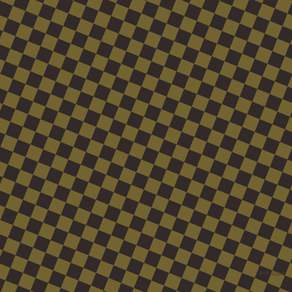 68/158 degree angle diagonal checkered chequered squares checker pattern checkers background, 19 pixel square size, , Livid Brown and Himalaya checkers chequered checkered squares seamless tileable