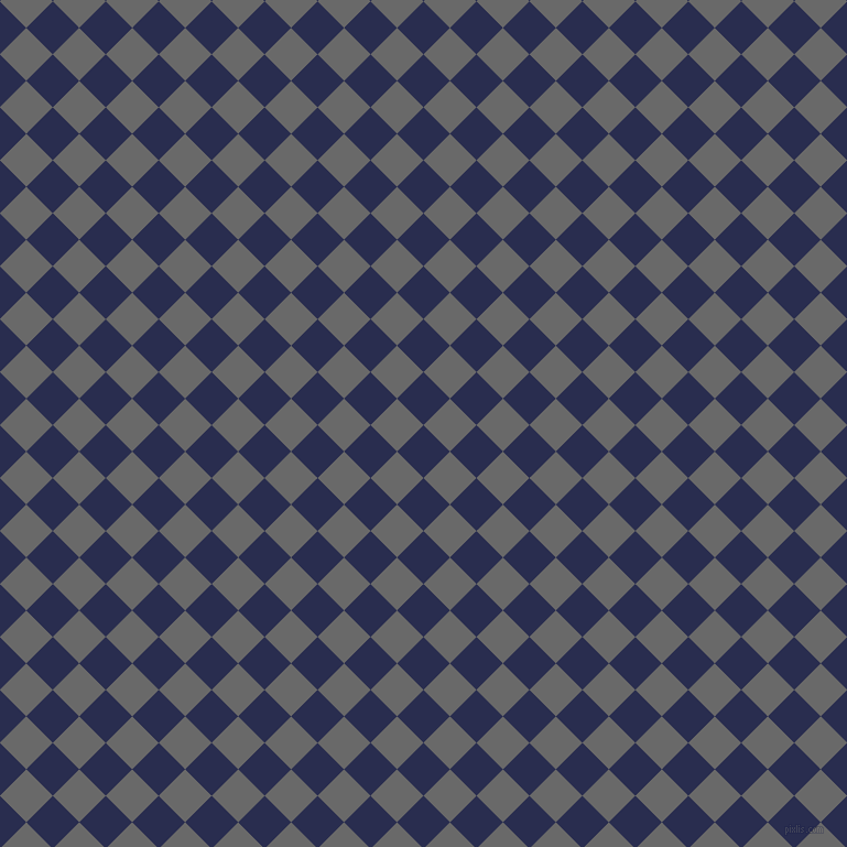 45/135 degree angle diagonal checkered chequered squares checker pattern checkers background, 34 pixel squares size, , Lucky Point and Dim Gray checkers chequered checkered squares seamless tileable