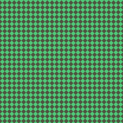 45/135 degree angle diagonal checkered chequered squares checker pattern checkers background, 13 pixel square size, , Lunar Green and Emerald checkers chequered checkered squares seamless tileable