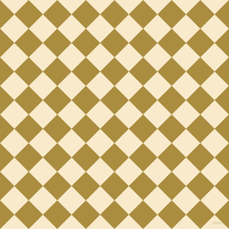 45/135 degree angle diagonal checkered chequered squares checker pattern checkers background, 66 pixel square size, , Luxor Gold and Gin Fizz checkers chequered checkered squares seamless tileable