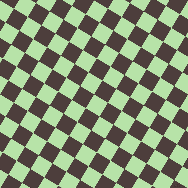 59/149 degree angle diagonal checkered chequered squares checker pattern checkers background, 56 pixel square size, , Madang and Crater Brown checkers chequered checkered squares seamless tileable