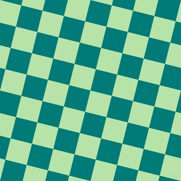 76/166 degree angle diagonal checkered chequered squares checker pattern checkers background, 76 pixel square size, , Madang and Surfie Green checkers chequered checkered squares seamless tileable