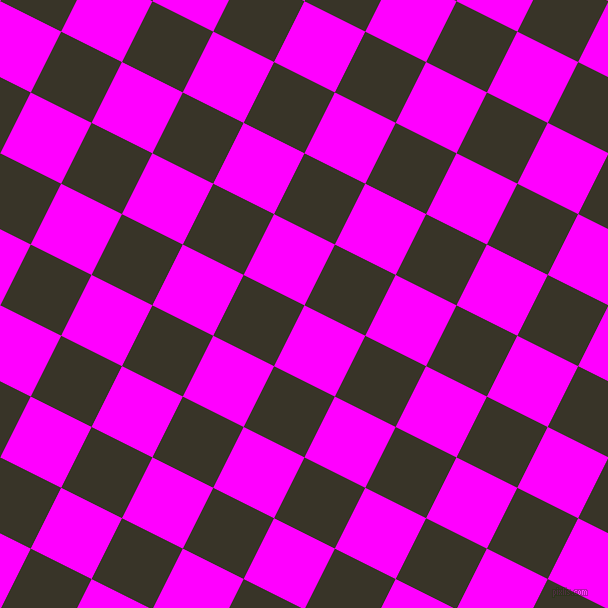 63/153 degree angle diagonal checkered chequered squares checker pattern checkers background, 68 pixel square size, , Magenta and Graphite checkers chequered checkered squares seamless tileable