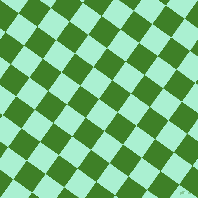 54/144 degree angle diagonal checkered chequered squares checker pattern checkers background, 76 pixel squares size, , Magic Mint and Bilbao checkers chequered checkered squares seamless tileable