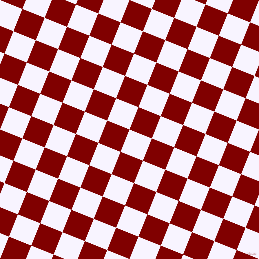 68/158 degree angle diagonal checkered chequered squares checker pattern checkers background, 83 pixel square size, Magnolia and Maroon checkers chequered checkered squares seamless tileable