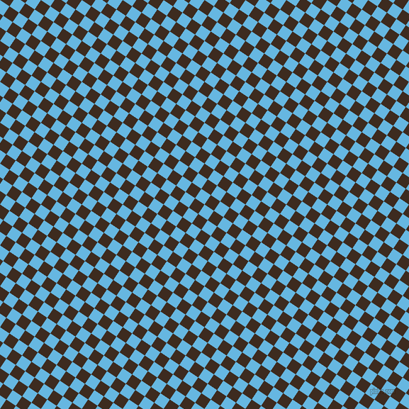 56/146 degree angle diagonal checkered chequered squares checker pattern checkers background, 16 pixel squares size, Malibu and Bistre checkers chequered checkered squares seamless tileable