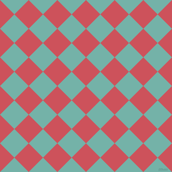 45/135 degree angle diagonal checkered chequered squares checker pattern checkers background, 80 pixel square size, , Mandy and Gulf Stream checkers chequered checkered squares seamless tileable