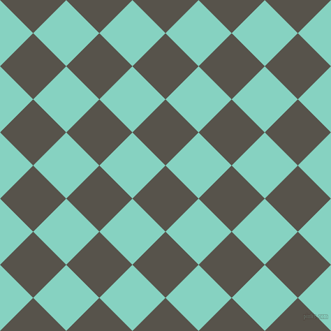 45/135 degree angle diagonal checkered chequered squares checker pattern checkers background, 67 pixel square size, , Masala and Bermuda checkers chequered checkered squares seamless tileable