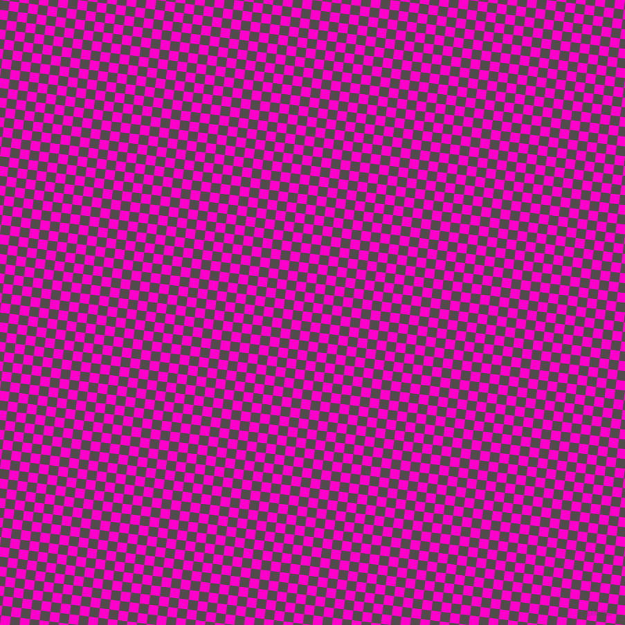 83/173 degree angle diagonal checkered chequered squares checker pattern checkers background, 14 pixel squares size, , Matterhorn and Hot Magenta checkers chequered checkered squares seamless tileable