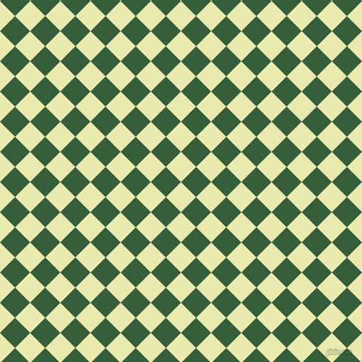 45/135 degree angle diagonal checkered chequered squares checker pattern checkers background, 30 pixel square size, , Medium Goldenrod and Hunter Green checkers chequered checkered squares seamless tileable
