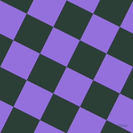 63/153 degree angle diagonal checkered chequered squares checker pattern checkers background, 100 pixel square size, , Medium Purple and Celtic checkers chequered checkered squares seamless tileable