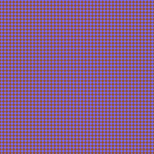 45/135 degree angle diagonal checkered chequered squares checker pattern checkers background, 8 pixel square size, Medium Slate Blue and Chelsea Gem checkers chequered checkered squares seamless tileable