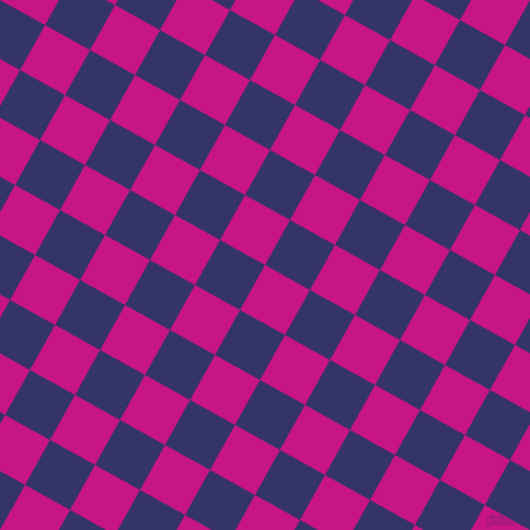 61/151 degree angle diagonal checkered chequered squares checker pattern checkers background, 47 pixel squares size, , Medium Violet Red and Deep Koamaru checkers chequered checkered squares seamless tileable