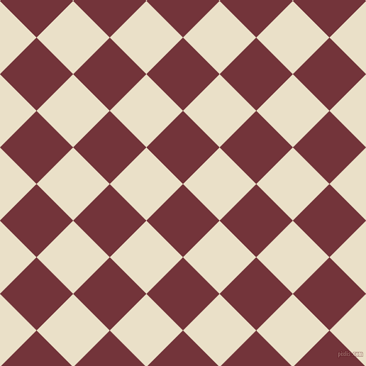 45/135 degree angle diagonal checkered chequered squares checker pattern checkers background, 73 pixel squares size, , Merlot and Pearl Lusta checkers chequered checkered squares seamless tileable