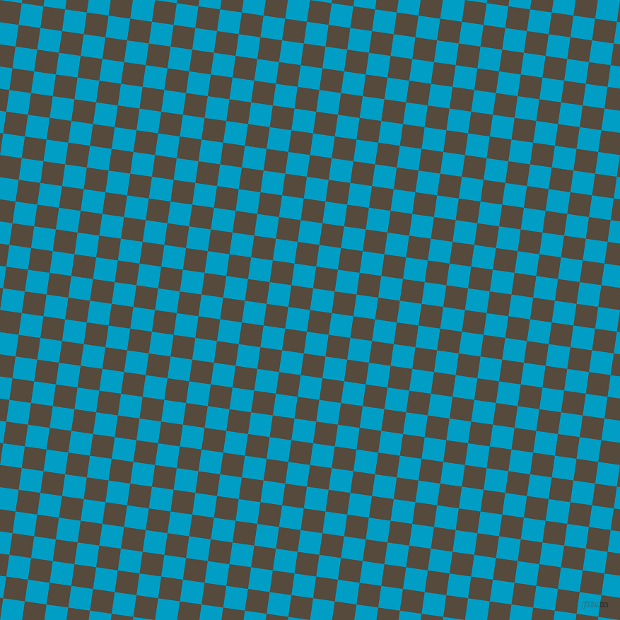 82/172 degree angle diagonal checkered chequered squares checker pattern checkers background, 31 pixel squares size, , Metallic Bronze and Pacific Blue checkers chequered checkered squares seamless tileable