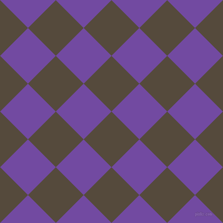 45/135 degree angle diagonal checkered chequered squares checker pattern checkers background, 80 pixel squares size, , Metallic Bronze and Studio checkers chequered checkered squares seamless tileable