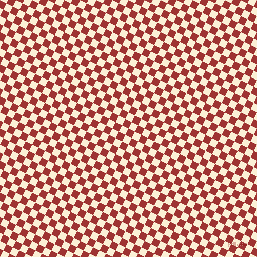 63/153 degree angle diagonal checkered chequered squares checker pattern checkers background, 14 pixel square size, , Milano Red and Half Dutch White checkers chequered checkered squares seamless tileable