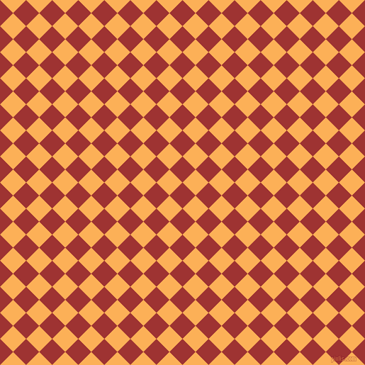 45/135 degree angle diagonal checkered chequered squares checker pattern checkers background, 26 pixel squares size, , Milano Red and Texas Rose checkers chequered checkered squares seamless tileable