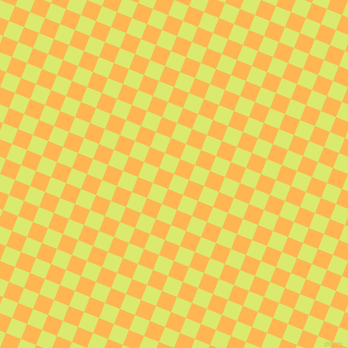 68/158 degree angle diagonal checkered chequered squares checker pattern checkers background, 33 pixel square size, , Mindaro and Koromiko checkers chequered checkered squares seamless tileable