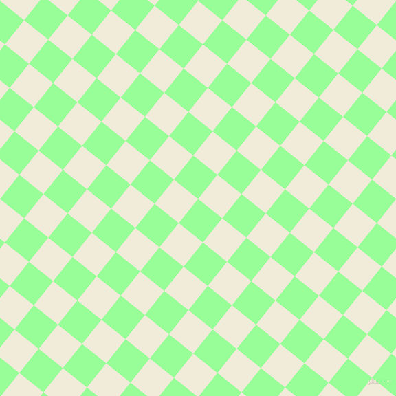 51/141 degree angle diagonal checkered chequered squares checker pattern checkers background, 45 pixel squares size, , Mint Green and Orchid White checkers chequered checkered squares seamless tileable