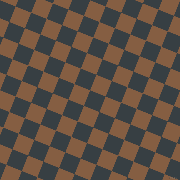 68/158 degree angle diagonal checkered chequered squares checker pattern checkers background, 69 pixel squares size, , Mirage and Dark Wood checkers chequered checkered squares seamless tileable