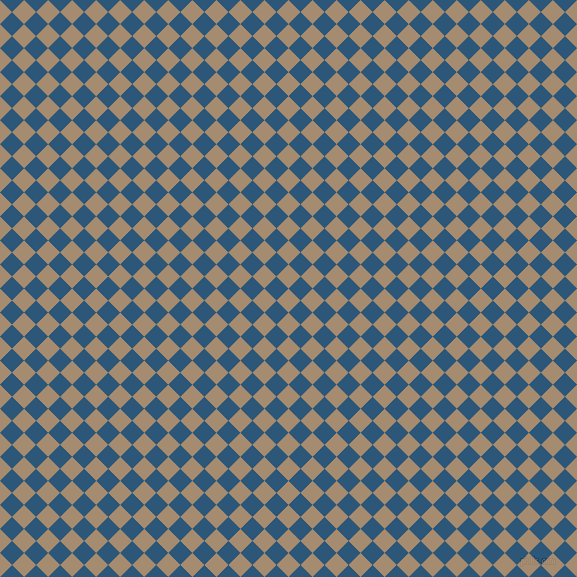 45/135 degree angle diagonal checkered chequered squares checker pattern checkers background, 17 pixel square size, , Mongoose and Venice Blue checkers chequered checkered squares seamless tileable