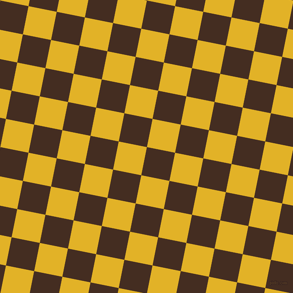 Morocco Brown and Gold Tips checkers chequered checkered ...