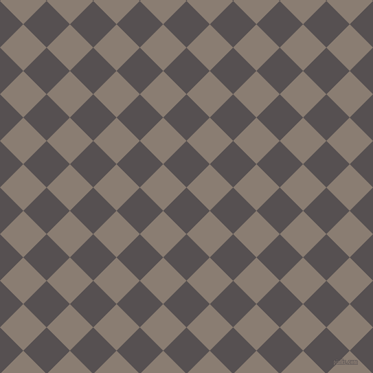 45/135 degree angle diagonal checkered chequered squares checker pattern checkers background, 48 pixel squares size, , Mortar and Americano checkers chequered checkered squares seamless tileable