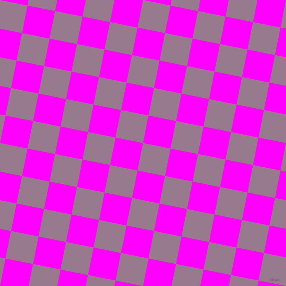 79/169 degree angle diagonal checkered chequered squares checker pattern checkers background, 95 pixel square size, , Mountbatten Pink and Magenta checkers chequered checkered squares seamless tileable