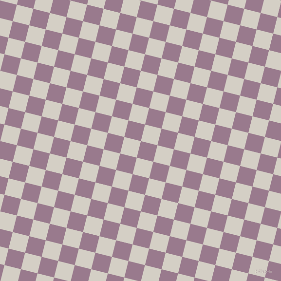 76/166 degree angle diagonal checkered chequered squares checker pattern checkers background, 35 pixel squares size, , Mountbatten Pink and Westar checkers chequered checkered squares seamless tileable